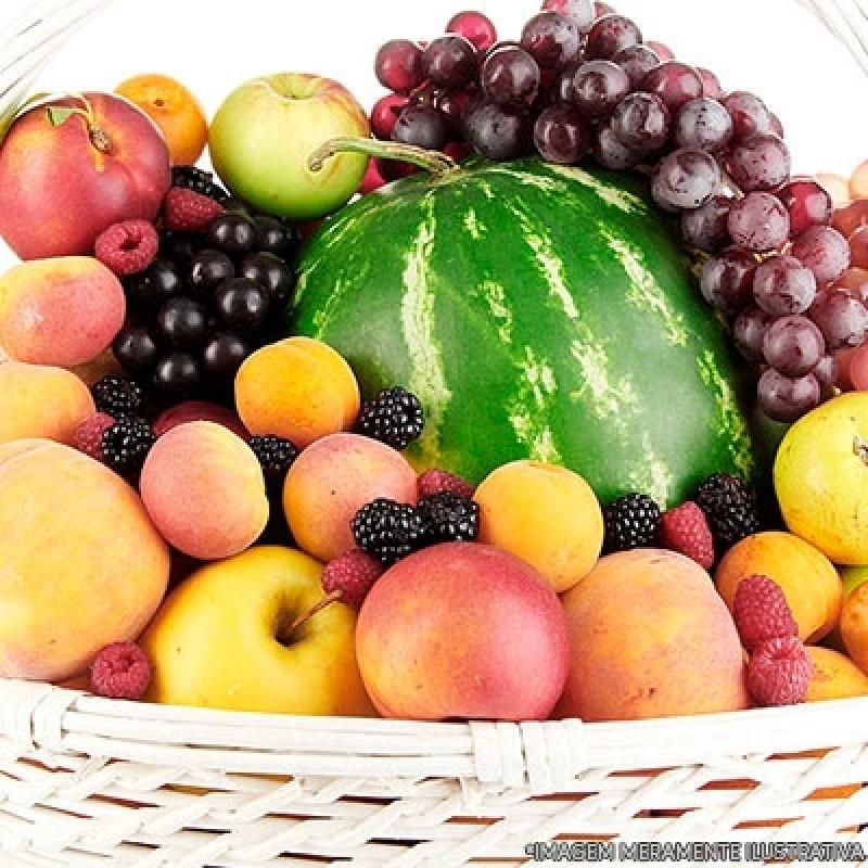 Cesta de Frutas Delivery Pacaembu - Delivery de Fruta para Empresas