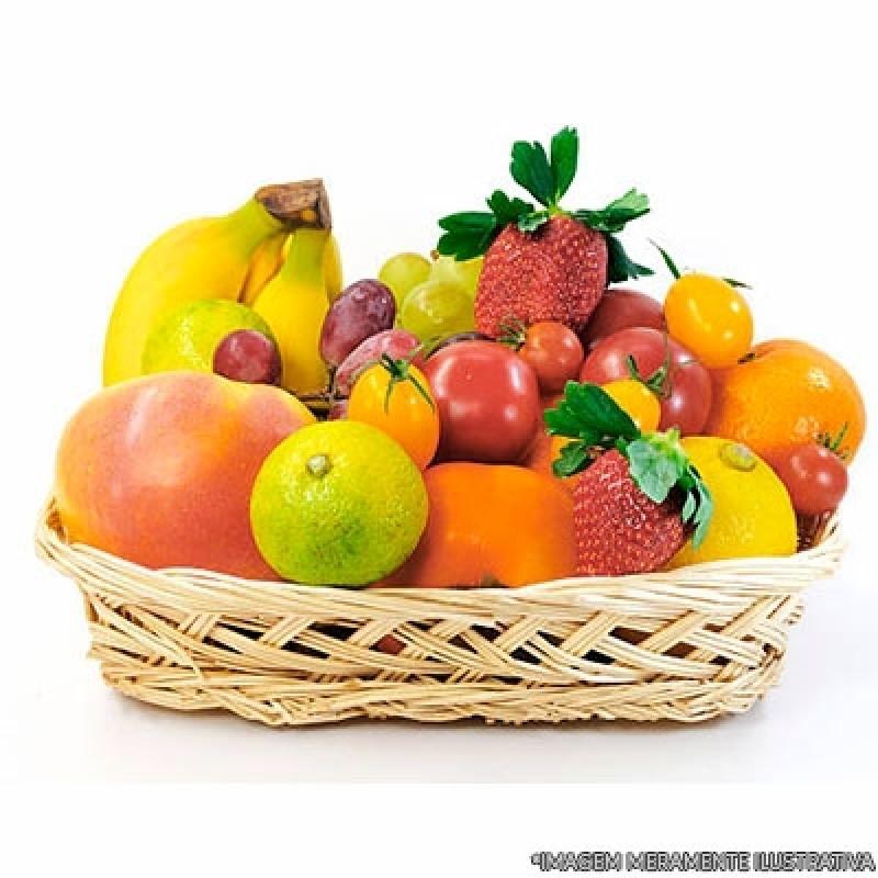 Onde Faz Cesta de Frutas Delivery Tucuruvi - Delivery de Fruta para Empresas