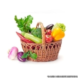 entrega de frutas e verduras