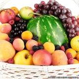 envio de frutas a empresas Santo André