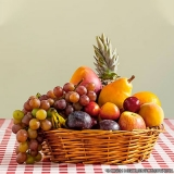 onde faz salada de frutas delivery Vila Mazzei